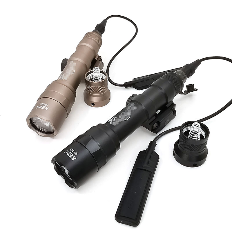 Lanterna tática m600b scout luz tático led