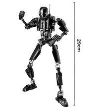 KSZ 617 Darth Vader White Trooper Figure Toys Building Blocks Bricks   Star Wars Toys For Children darth sidious with lightsaber xinh 205 starwars darth vader star wars minifigures building block toys for children lepin