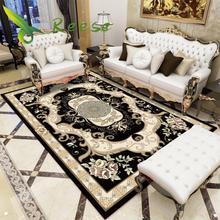 цена на Aliexpress Hot Sale Modern Soft Persian Bedside Rug Non-slip Antifouling Living Room Bedroom Carpet Parlor Factory Direct Supply