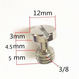 "Image 2 - Jadkinsta 10pcs 1/4"" flat head Convert Slotted Screw Adapter Thread Camera Screw Mount Adapter for DSLR Camera Tripod Stand"