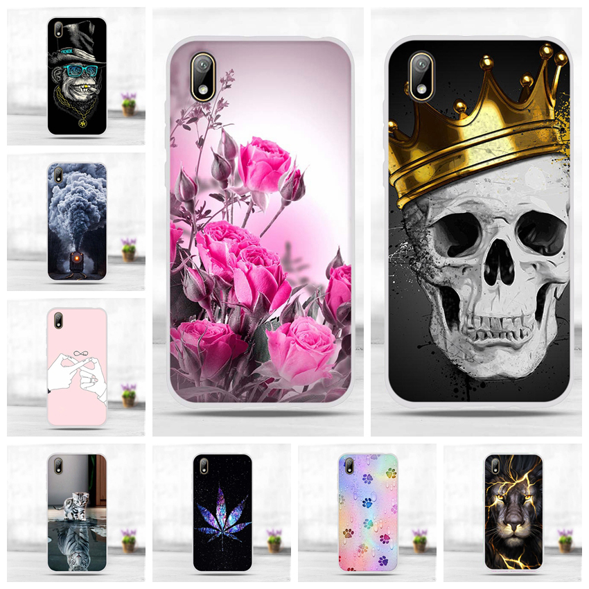 Coque For <font><b>Huawei</b></font> <font><b>Y5</b></font> <font><b>2019</b></font> <font><b>Silicon</b></font> Case Cute Phone Cover For Honor 8s Case Cover Soft TPU Patterned Funda Bumper 5.71