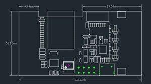 Image 5 - LILYGO®وحدة تحكم TTGO VGA32 V1.4 وحدة تحكم PS/2 محرك ألعاب لمكتبة الرسومات ولوحة المفاتيح ومطرفية ANSI/VT لـ ESP32