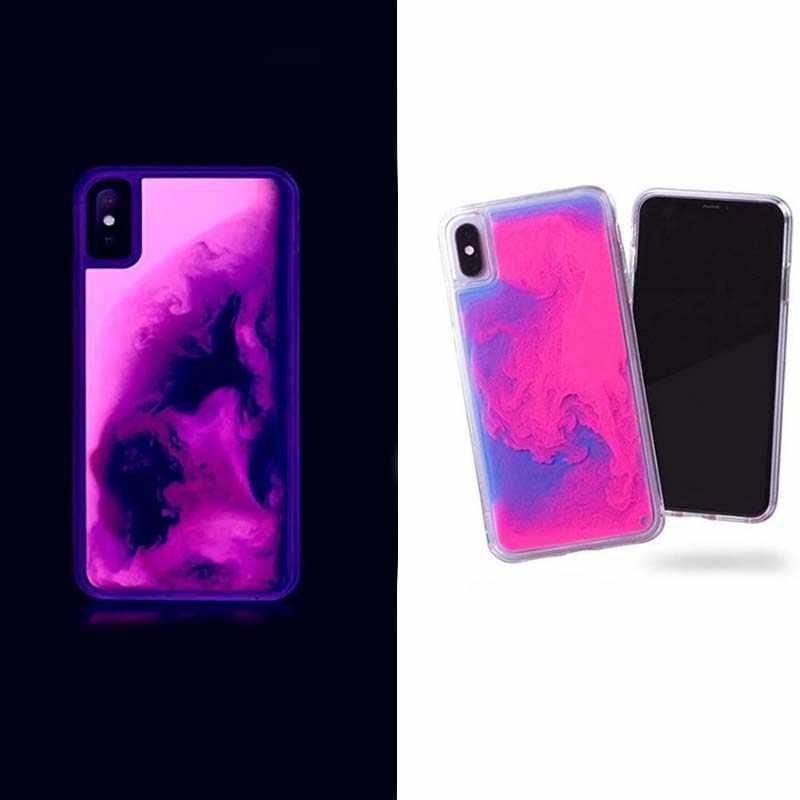 funda iphone 6 que brilla en la oscuridad