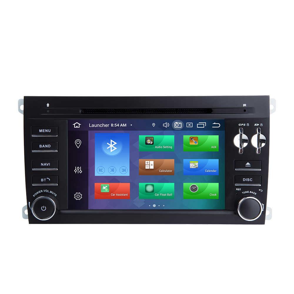 4GB 2Din Android 9.0 Auto Dvd-speler Voor Porsche Cayenne S GTS 2002-2009 multimedia GPS RadioAudio stereo navigatie CD head unit