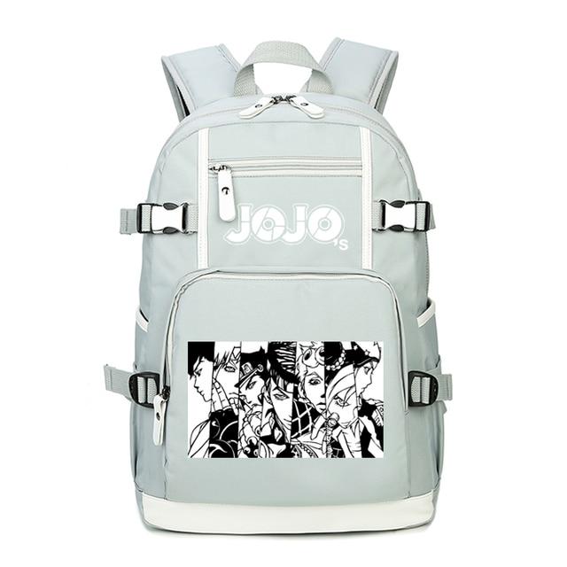 JoJo's Bizarre Adventure Women Pink Backpack Waterproof Travel Bagpack Anime Bookbag Kujo Jotaro School Bags for Teenage Girls 2