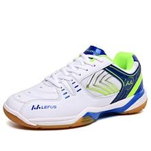 2020 New Men Women Kids Professional Badminton Training Shoes Anti Slip  Cow Muscle Sneakers Mens Tennis Footwear