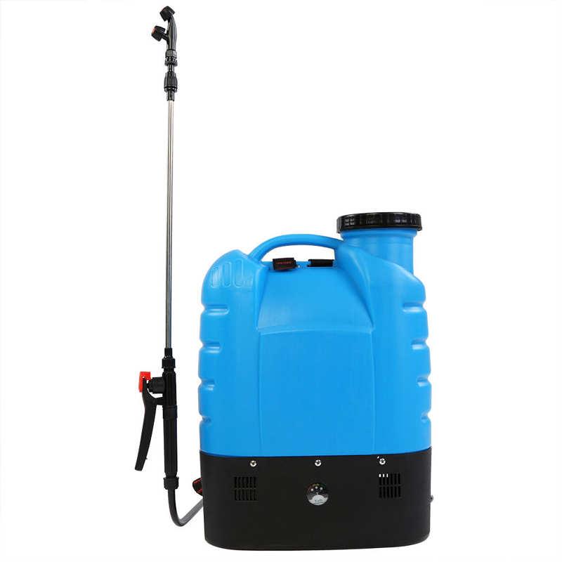 16L Electric Backpack Type Agricultural High Pressure Sprayer Gardening Tool 110V US Plug Paint Gun Garden Supplies-1