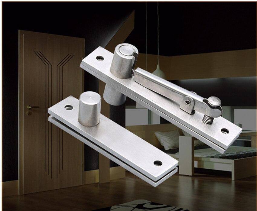 Haute qualité en acier inoxydable 304 porte charnière 130x25mm 105x25mm Pivot charnière 360 degrés installer de haut en bas pour un ensemble