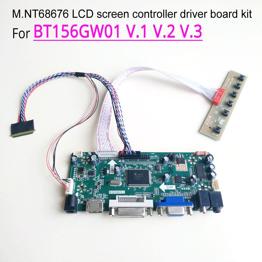 Kit For N116BGE-L32 1366x768 HDMI+DVI+VGA LCD Lvds Converter Board Controller