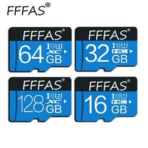 Карта памяти Micro SD, класс 10, 32 ГБ, 8 ГБ, 16 ГБ, 64 ГБ, 128 ГБ, карта флэш-памяти, TF-карта, 32 ГБ для смартфона, камеры ноутбука