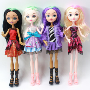 Image 5 - 4 pcs/Set Dolls Ever After Doll Fashion Monster Doll High Quality Moving joint For BJD dolls reborn baby toys gift for girl