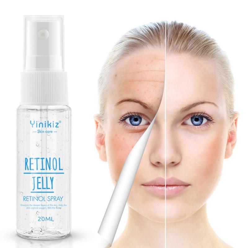 Retinol Serum Moisturizing Lightening Pigment Remove Freckles Anti-wrinkles Anti-aging Essence Shrinking Pores Lighten Fine Line