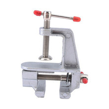 Mini Tool Jewelers Hobby Portable Multi Functional Aluminum Home Rotation Vise Table Small Miniature Clamp(China)