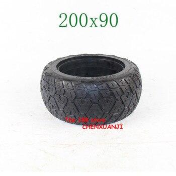 Envío Gratis, neumático sólido de 200x90 sin tubo interno, neumáticos aptos para scooter Eléctrico, torque de coche de 8 pulgadas, neumático sólido no inflable