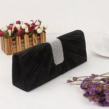 цены на Women Evening Bag Wedding Wallet Diamond Purses Party Banquet Glitter Bag For ladies Wedding Clutches Chain Shoulder Bag Bolsas  в интернет-магазинах