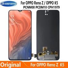 Original Screen For OPPO Reno Z PCDM10 CPH1979 LCD Display Touch Screen Digitizrt For OPPP K5 PCNM00 LCD Glass