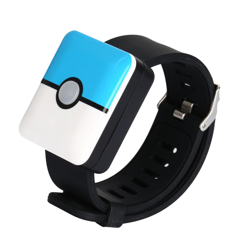 Bluetooth Smart Watch Wristband Charging Band Switch for Pokemons Go Plus Pocket Auto Catch
