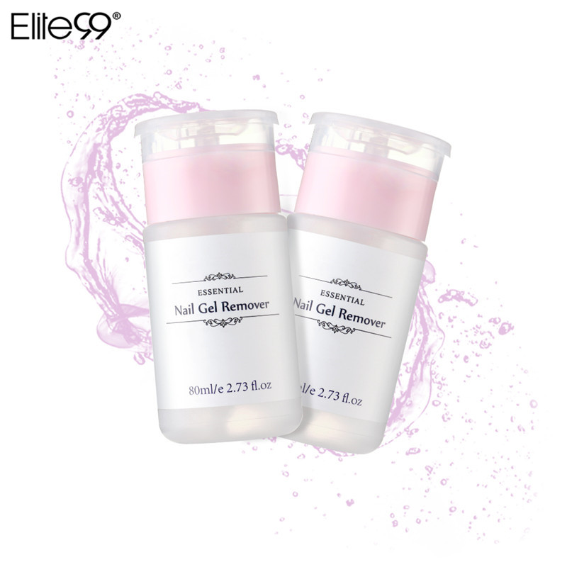 Elite99 Nail Surface Cleanser Gel Soak Remover Gel Nail Polish Varnish Cleaner Nail Art Liquid Removing Gel Manicure Nails Tool