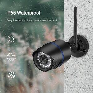 Image 3 - Hamrolte caméra de surveillance Bullet extérieure IP Wifi 5MP, étanche, sans fil, avec enregistrement Audio IE, navigateur internet Xmeye Cloud RTSP iCSee
