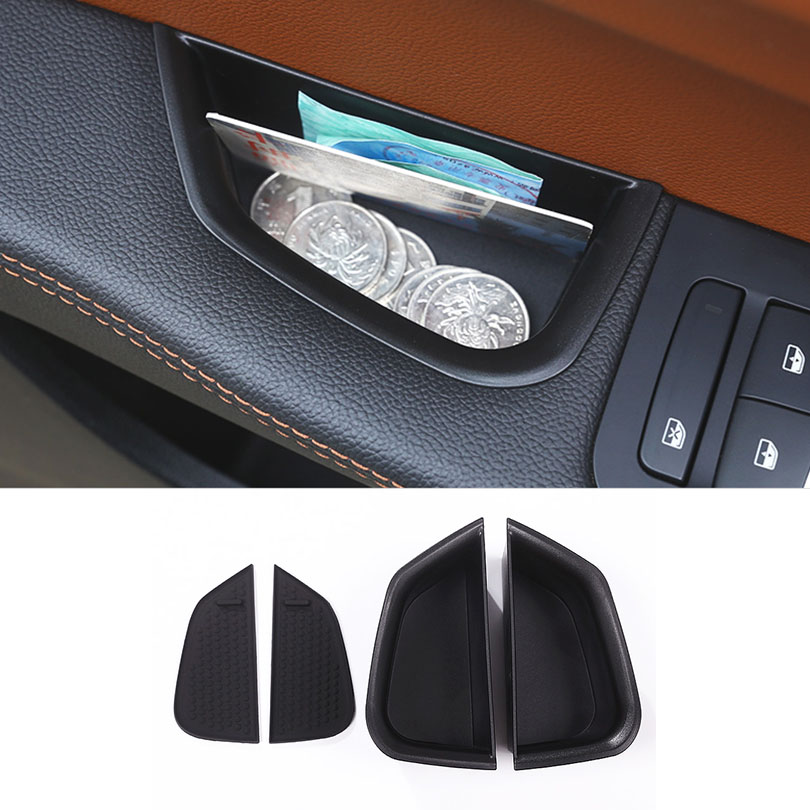 Tray Container Storage-Box Armrest Car-Styling for Alfa Giulia Front-Door-Handle Romeo