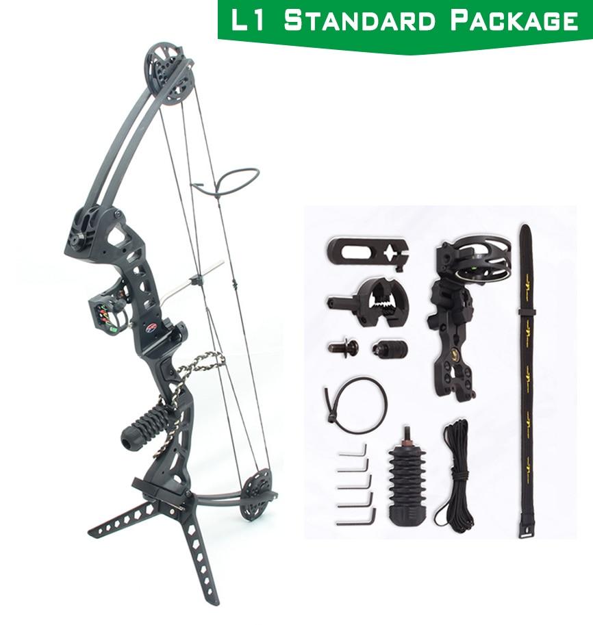 Katrol Ganda Busur dan Anak Panah Set 35-70Kg Adjustable Busur dan Anak Panah Berburu Outdoor Olahraga Berburu Shooting