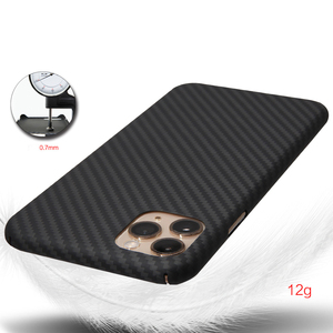 Image 5 - Kevlar real pure carbon fiber fashion phone case for iphone 11 pro max Ultra thin Anti fall hard business cover case 11 X shell