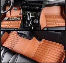 цена на Full Covered Waterproof Carpets Durable Special Car Floor Mats for BMW 6/7 SERIES 730li 740li 750li 760li 530li 540li 528li