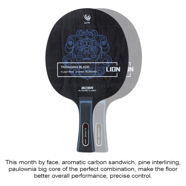 Table Tennis Racket Pimples-in Rubber 7 Baseboard Layers Wooden Bottom Ping-pong Bats Racquet Sports Accessories 4