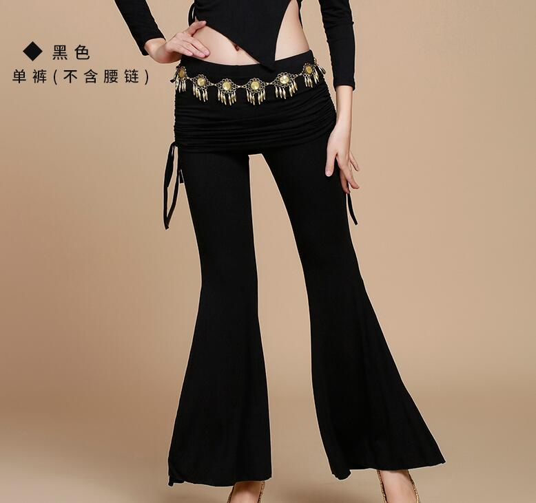 New India Dancing Pants Belly Modal Bell-bottoms  Autumn Winter Pants