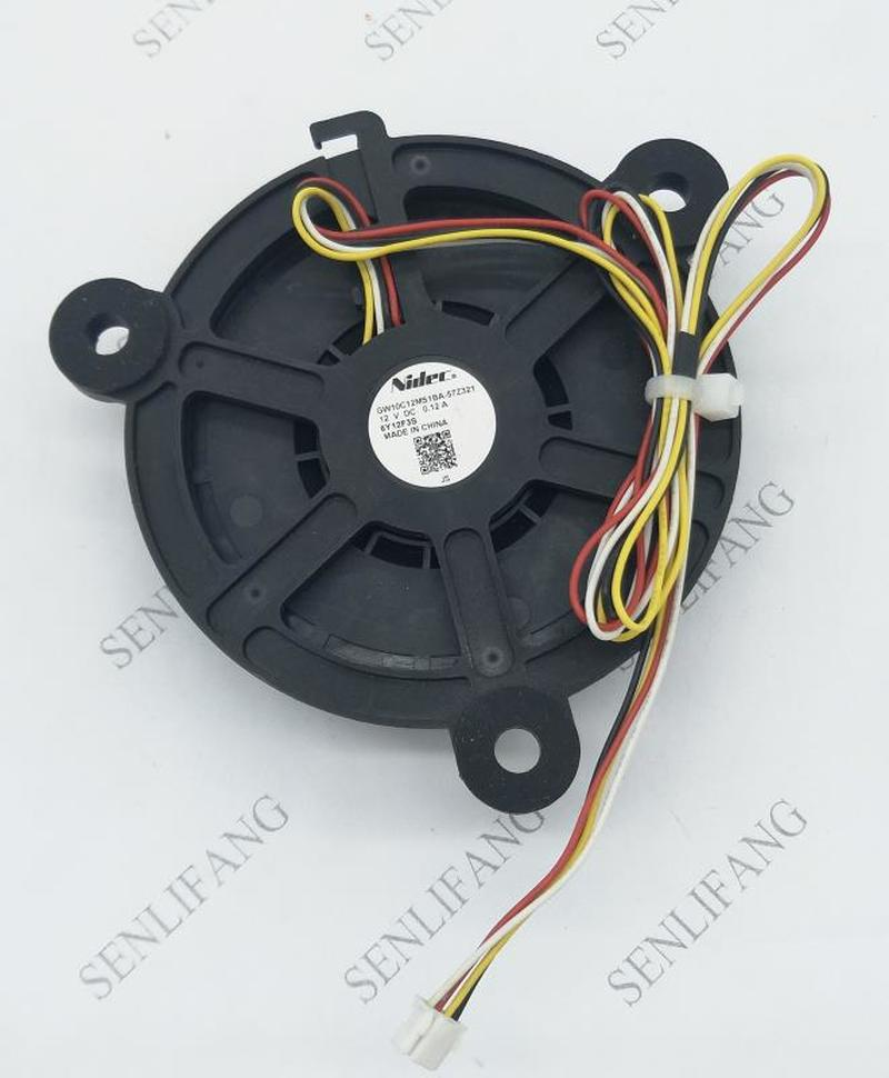 GW10C12MS1BA-57Z322 DC12V 0.12A 4Lines For Refrigerator Cooling Fan