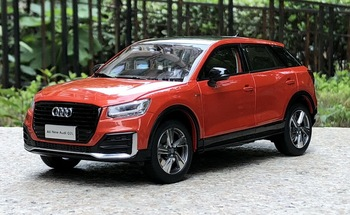 Original authentic 1:18 Scale All New Audi Q2L 2019 Blue/Orange/Black Diecast Static Simulation Alloy Model Car Gifts Collection image