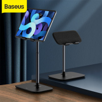 Baseus Tablet Desk Stand Black Desktop Phone Holder For Tablet Pad Desktop Holder Stand For iPad Air Mini For Study Convenient