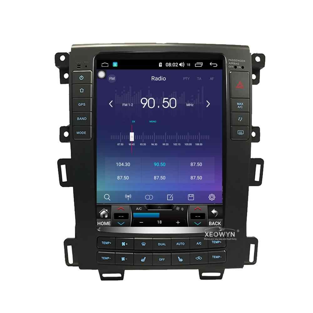 Octa Core Android 8.1 Auto Gps Navigatie Stereo Radio Voor Ford Edge 2011 2012 2013 2014 Taurus Wifi Mirrorlink Een/C Bluetooth