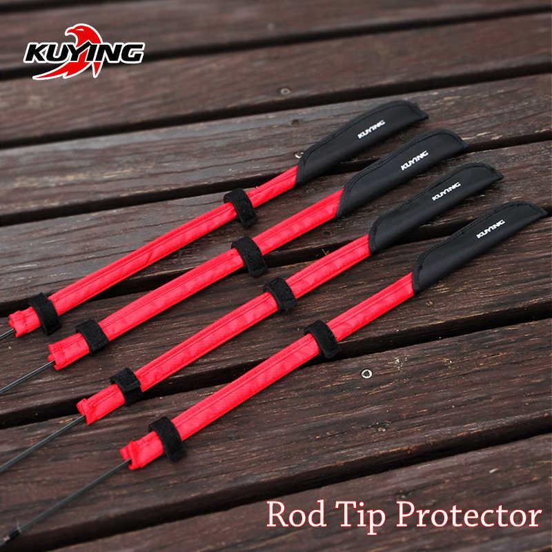 KUYING canne à pêche canne bâton pôle pointe protecteur sac de protection nouveauté