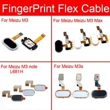 Home Button Fingerprint Sensor Flex Cable For Meizu M3 M3s M