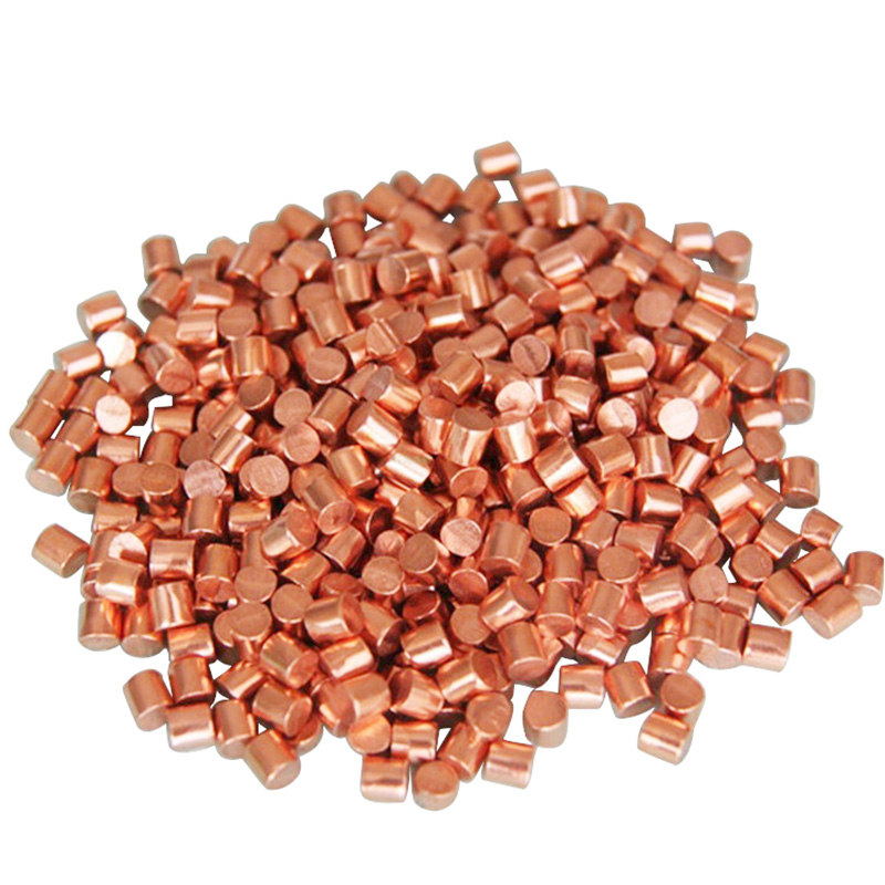 Copper Cu Metal Pellets Purity 99.999%
