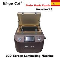 A3 LCD Repair Portable Vacuum OCA Lamination Machine For iPhone Huawei etc. Display Laminating Bubble Removing Bonding Machine