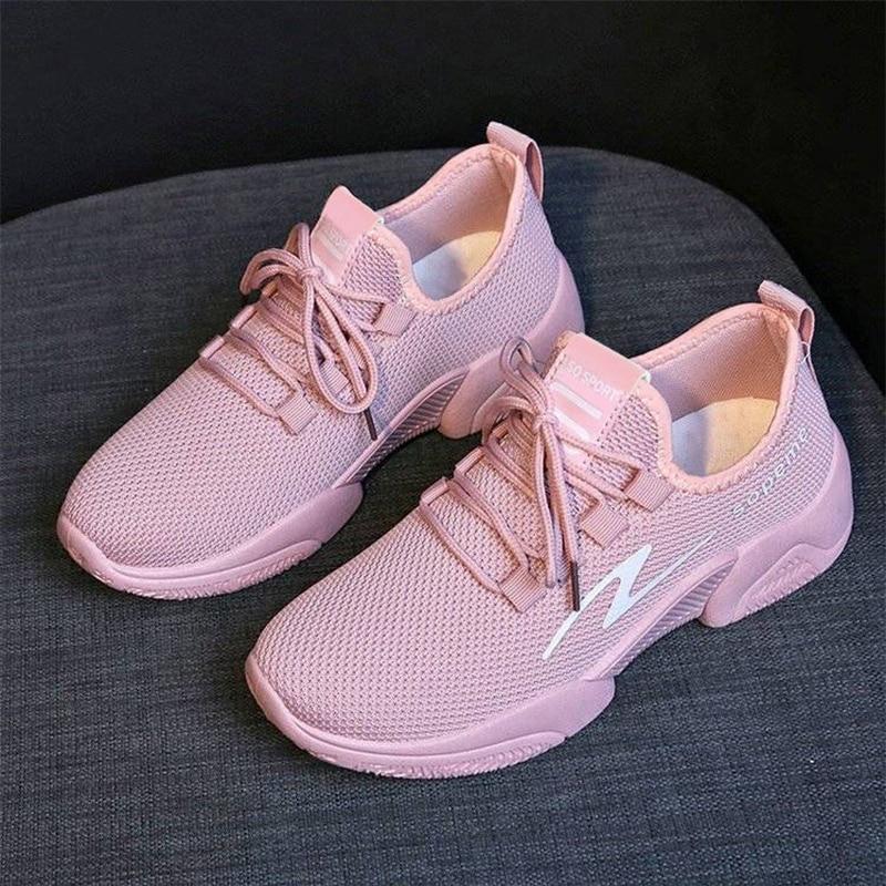 NAIK Pllo Women's Sport Shoes Female Brand Sneakers Woman Running Shoes Breathable Antislip Light Flats Fashion Schoolgirl 2020
