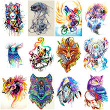 Diy 5d diamond painting lion embroidery tiger animal cross stitch