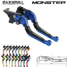 CNC Aluminum Handle Motorcycle Accessories Brake Clutch Levers For Ducati monster ST2 M 400,600,620,750,919,796,696 M600
