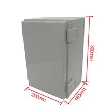 300*200*160 мм водонепроницаемый корпус чехол для электронного распределительного проекта наружная электрическая Соединительная коробка