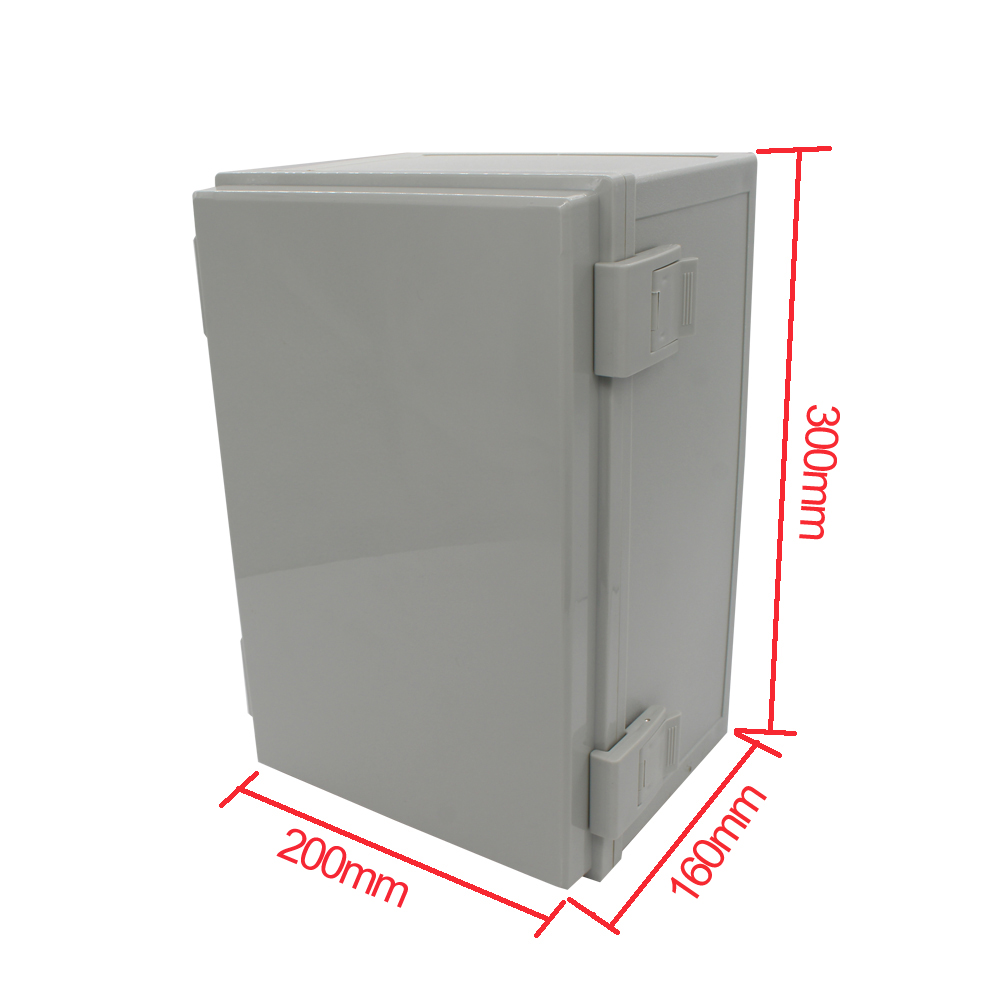 300*200*160mm Waterproof Enclosure Case Electronic Junction Project Outdoor Electrical Connection Box