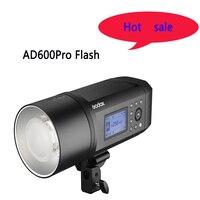 Godox AD600 Pro WITSTRO tout-en-un Flash extérieur AD600Pro li-on batterie TTL HSS avec système intégré Godox 2.4G sans fil X