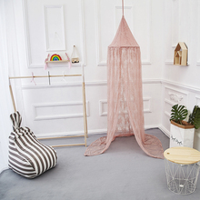 Princess Dome Kid Baby Eco-Friendly Bed Canopy Mosquito Net Nursery Play Tent Hanging House Decoration for Baby
