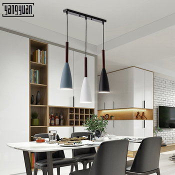 Modern Dining Room Pendant Lights Minimalist LED Hand Lamp Restaurant Pendant Lamps Indoor Decoration Home Lighting Lamparas
