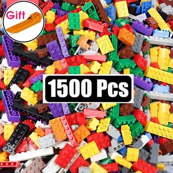 DIY Building Blocks Bulk Sets City Creative INGs Classic Technic Bricks Creator Toys For Children Christmas Gift 1