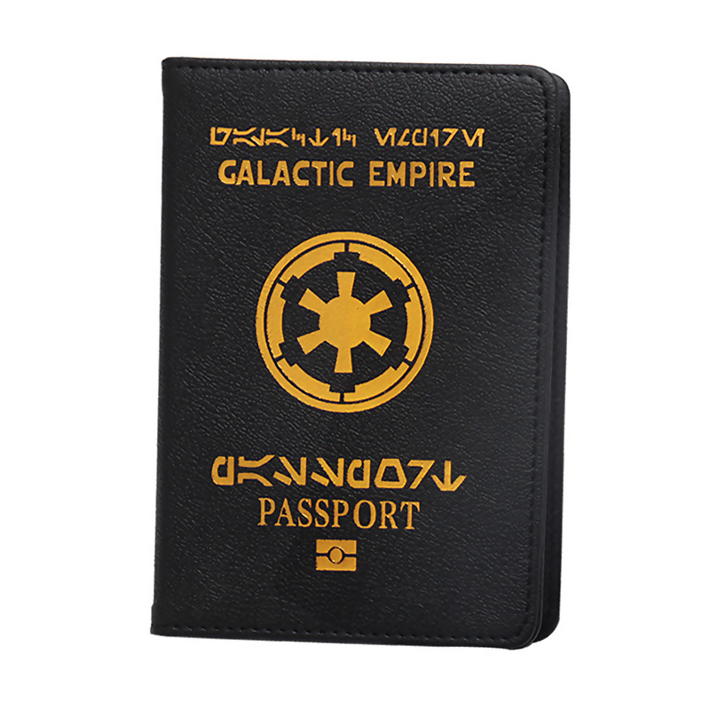 The Star Wars Galactic Empire Passport Cover  Travel Passport Holder Fit For EU Passport Cover My First Cover For Passport