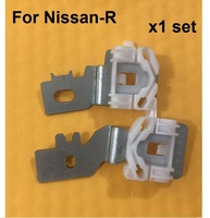 FOR NISSAN QASHQAI WINDOW REGULATOR REPAIR CLIPS FRONT RIGHT SIDE 2007-2010