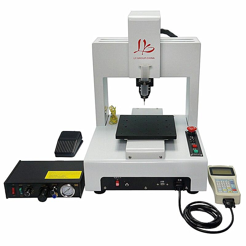 Автоматический цифровой диспенсер для клея 3 осевой SMD дозатор для печатных плат, электронных компонентов