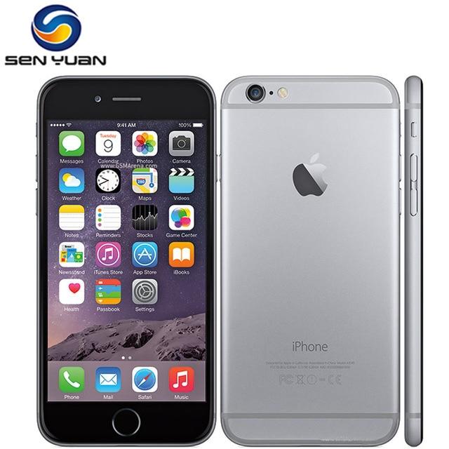 Unlocked Apple iPhone 6 1GB RAM 4.7 Inch IOS Dual Core 1.4GHz 16/64/128GB ROM 8.0 MP Camera 3G WCDMA 4G LTE Used Mobile Phone 1